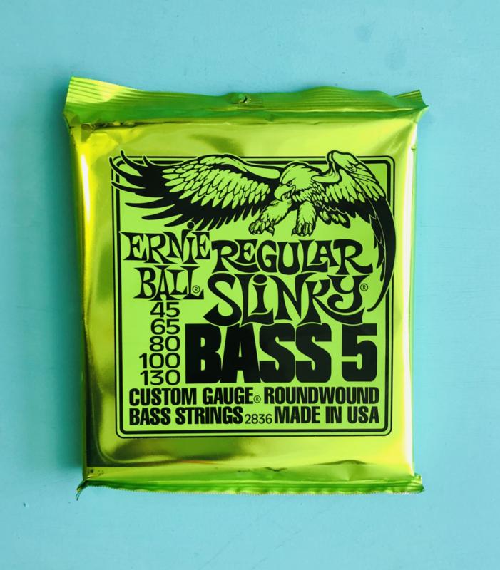 Ernie Ball Regular Slinky Bass 5 045-130