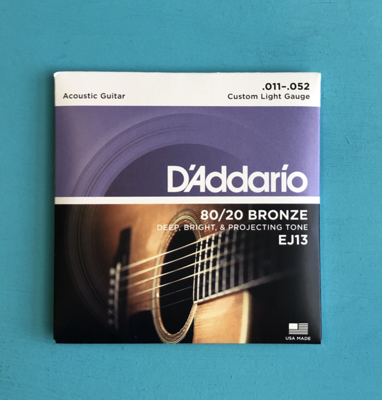 D'Addario Acoustic strings .011-.052
