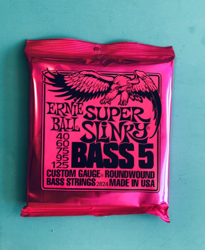 Ernie Ball Super Slinky Bass 5  40-125