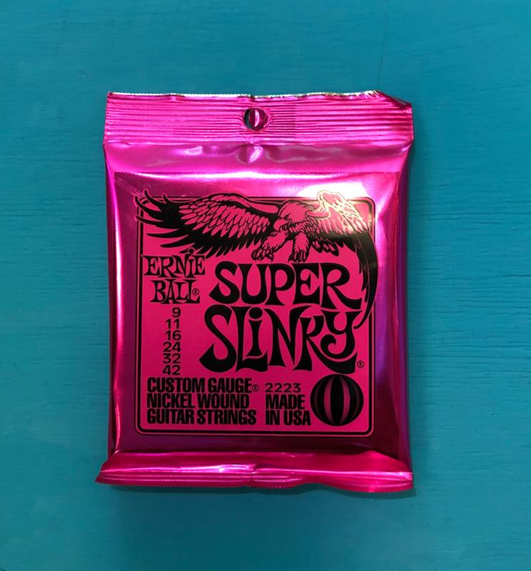 Ernie Ball Super Slinky 009 - 042