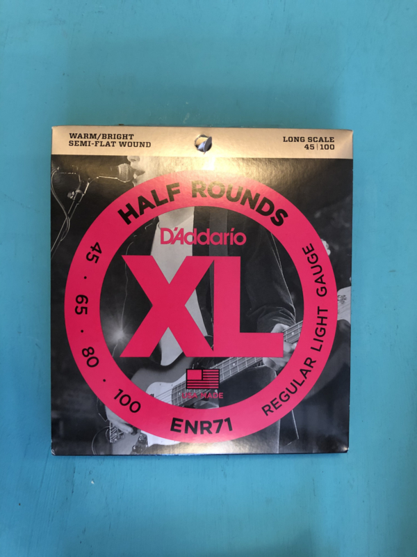 D'Addario Half Rounds long scale 45-100 ENR71