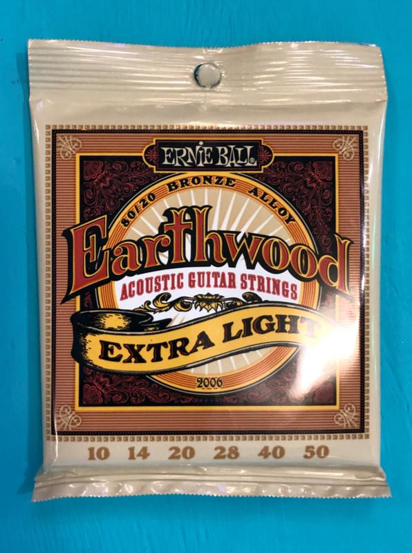 Ernie Ball Earthwood Extra Light 10 - 50