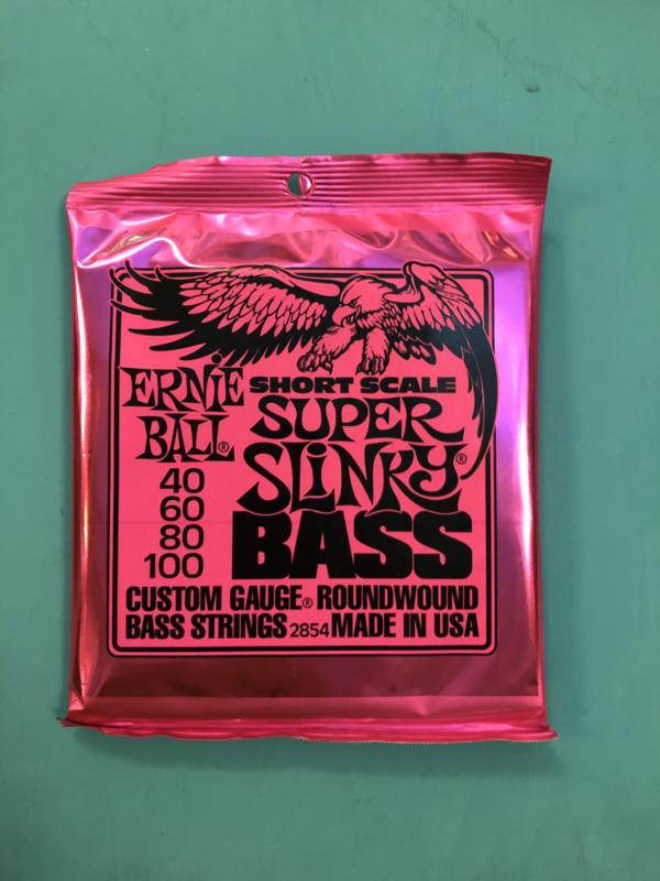 Ernie ball Super Slinky Bass Shortscale