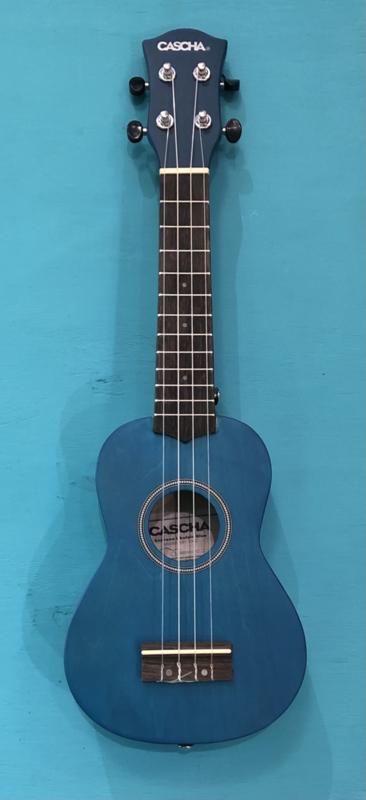 Cascha sopraan ukelele blauw