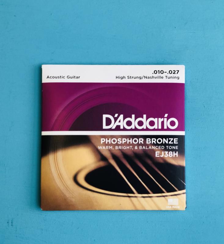 D'Addario .010-.027 ej38h