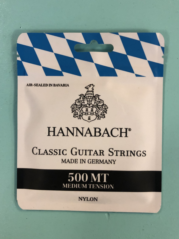 Hannabach 500 medium tension classical strings
