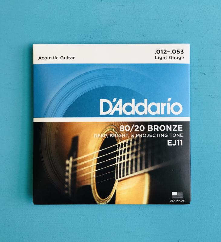 D'addario Acoustic strings .012-.053
