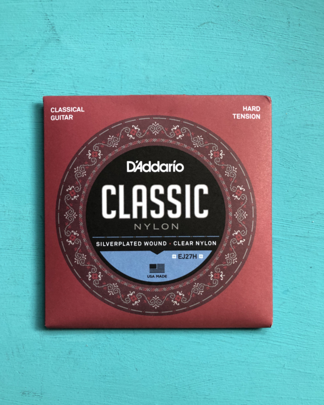 D'Addario. Classic  nylon hard tension