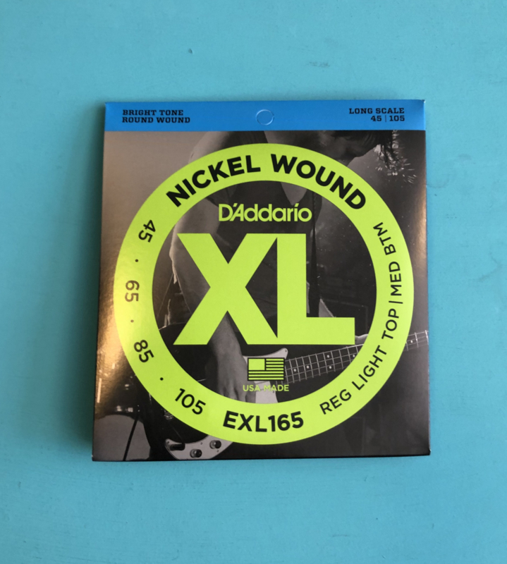 D'Addario XL 165 Nickel Wound Bass strings