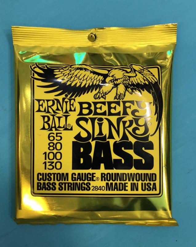 Ernie Ball beefy slinky Bass 65-130