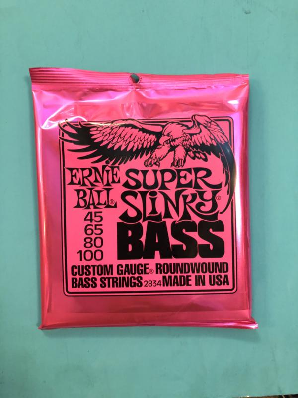 Ernie Ball Super Slinky bass 45-100