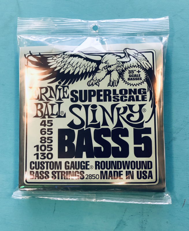 Ernie Ball Super Bass 5 Long Scale 45-130