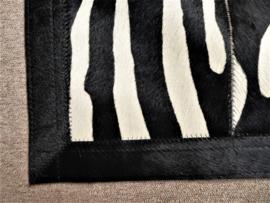 Zebra Patchwork Tapijt, 90 x 210 cm