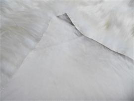 Wit Ijslands Schapenvacht Tapijt, Triple, +/- 115 x 155 cm (70)