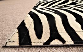 Zebra Patchwork Tapijt