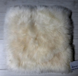 Chair Pad Icelandic Sheepskin, White, Shorn