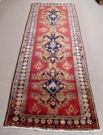 Hamadan Rug, 117 x 303 cm