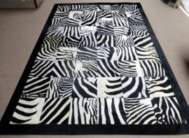 Zebra Patchwork Tapijt, 200 x 290 cm