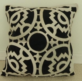 Laser Cut Cowhide Cushion (4)