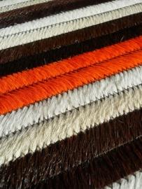 Tafelloper in Koeienhuid - Oranje/Bruin