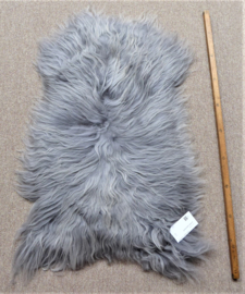 Silver Grey Icelandic Sheepskin S (153)