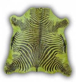 Imitatie zebrahuid groen