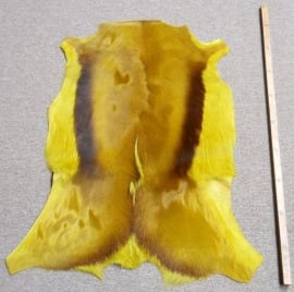 Springbokhuid Limoengroen