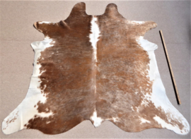 Rusty Brown-Taupe-White Cowhide M (864)