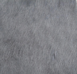 Dark Grey Cowhide