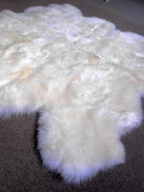 Schapenvacht Tapijt Wit, 175 x 190 cm
