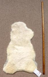 Mini Witte Lamsvacht
