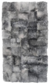 Grey Shorn Sheepskin Rug