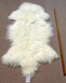 Witte Gekrulde Mongoolse Schapenvacht (3257)