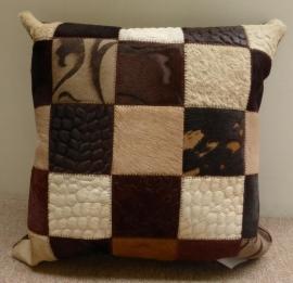 Multicolor Brown Kussen
