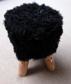 Zwart Schapenvacht Krukje
