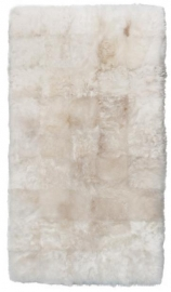 White Shorn Sheepskin Rug