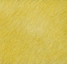 Lemon Yellow Cowhide