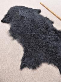 Zwarte Gekrulde Mongoolse Schapenvacht (3655)