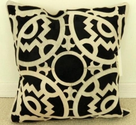 Laser Cut Cowhide Cushion (2)
