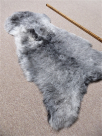 Grey Shorn Sheepskin S (3413)