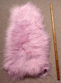 Roze Ijslandse Schapenvacht S (703)