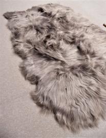 Taupe Ijslands Schapenvacht Tapijt, Quadruple, +/- 130 x 210 cm