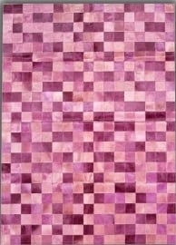 Multicolor Squares pink