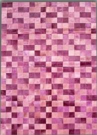 Multicolor Squares pink