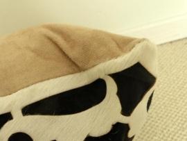 Ingesneden Koeienhuid Kussen (4)