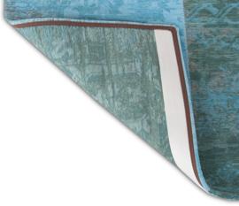 Vintage tapijt Multi Azur