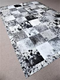 Gaucho, Peper-en-Zout Zwart-Wit, 200 x 290 cm