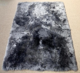 Grey Shorn Sheepskin Rug, 120 x 170 cm