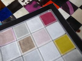 Multicolor Koeienhuid Patchwork Tapijt, 120 x 180 cm
