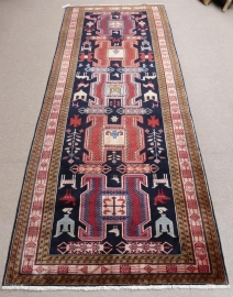 Hamadan Rug, 130 x 320 cm